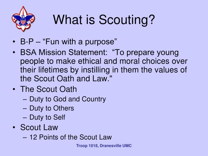 What is Scouting?