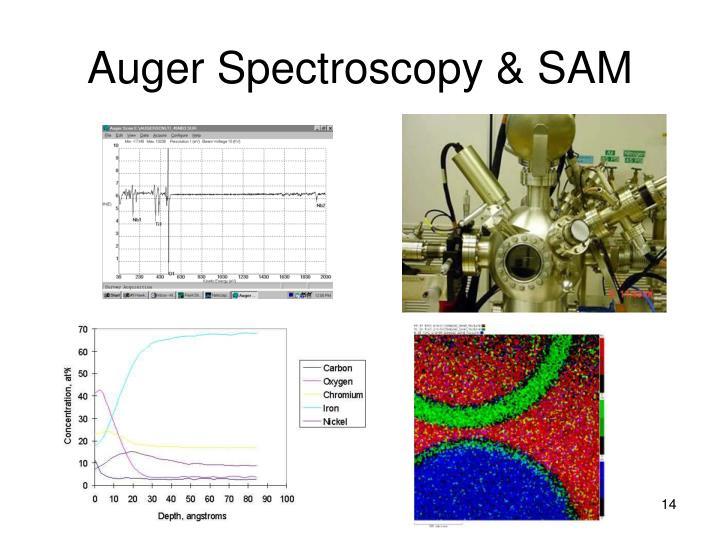 Auger Spectroscopy & SAM