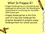 what is preppie k