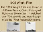 1905 wright flier
