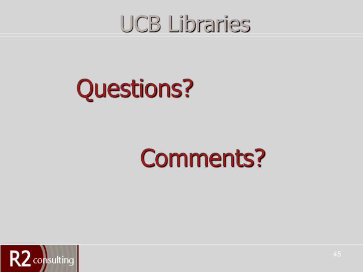 UCB Libraries