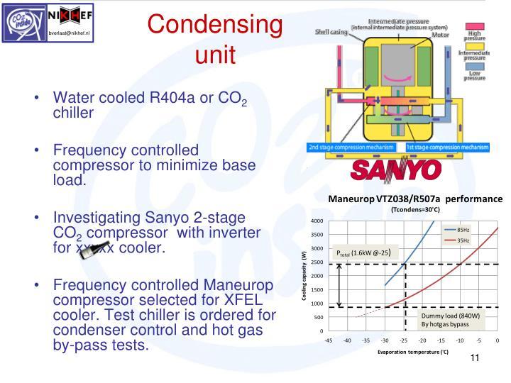 Condensing unit