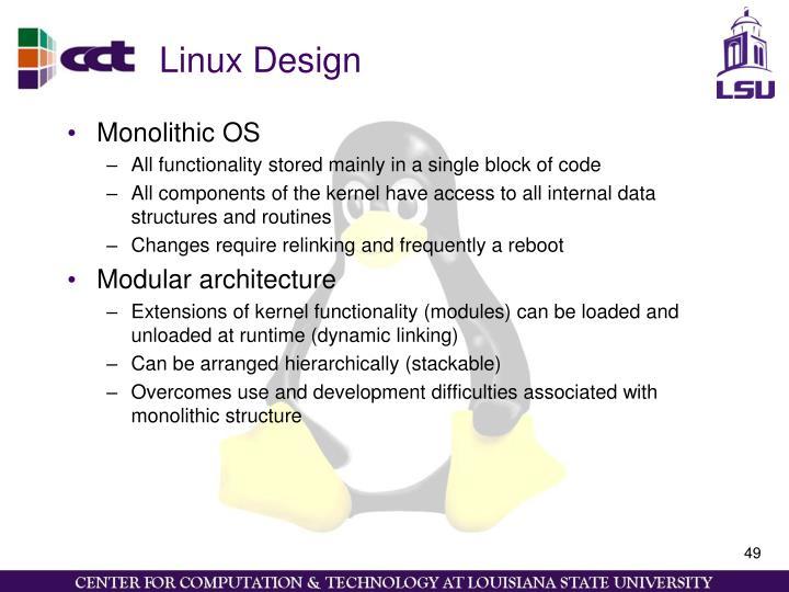 Linux Design