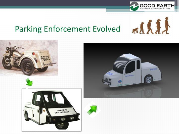 Parking Enforcement Evolved