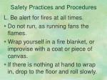safety practices and procedures11