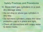 safety practices and procedures6