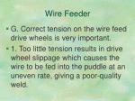 wire feeder6