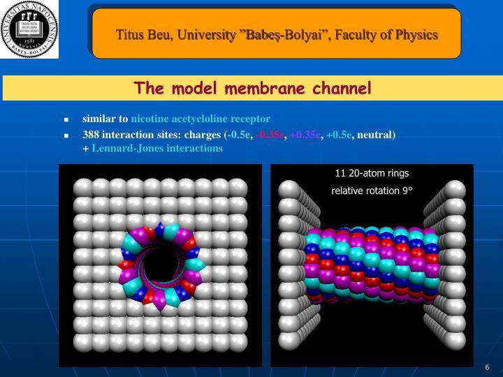 "Titus Beu, University ""Babeş-Bolyai"", Faculty of Physics"