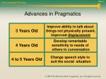 advances in pragmatics
