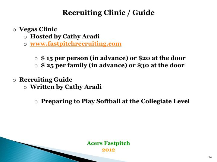 Recruiting Clinic / Guide
