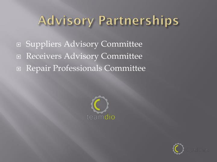 Advisory Partnerships
