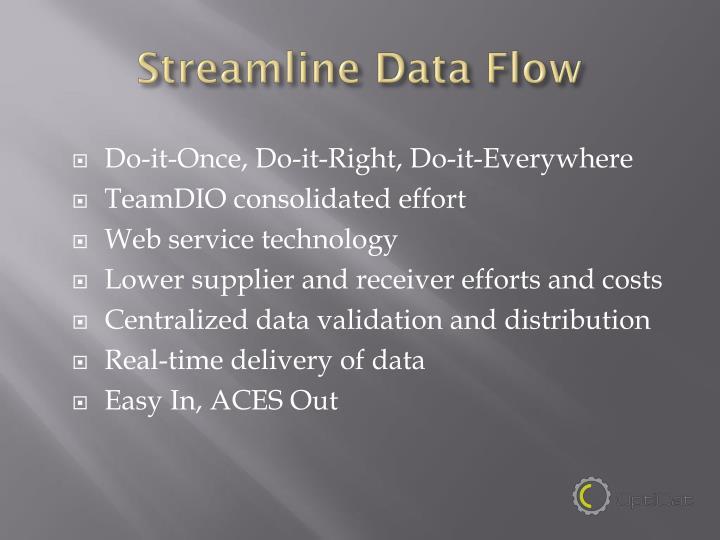 Streamline Data Flow
