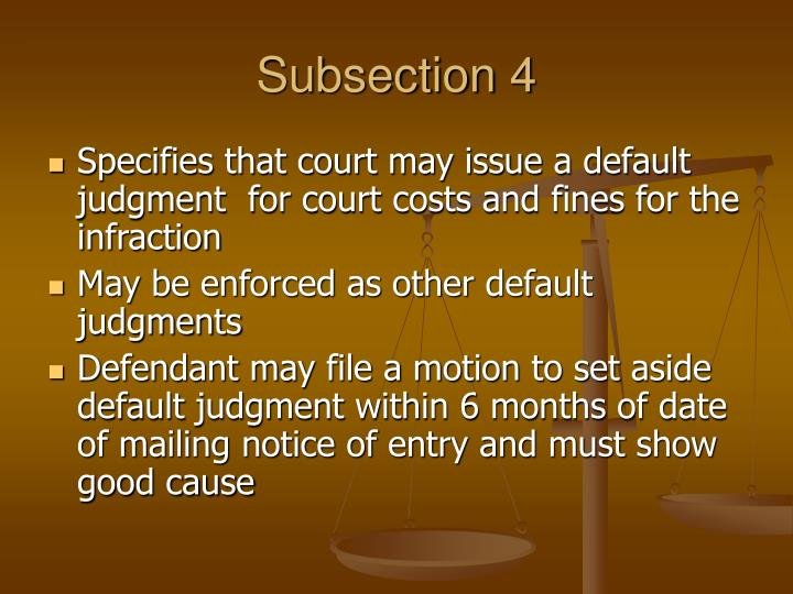 Subsection 4