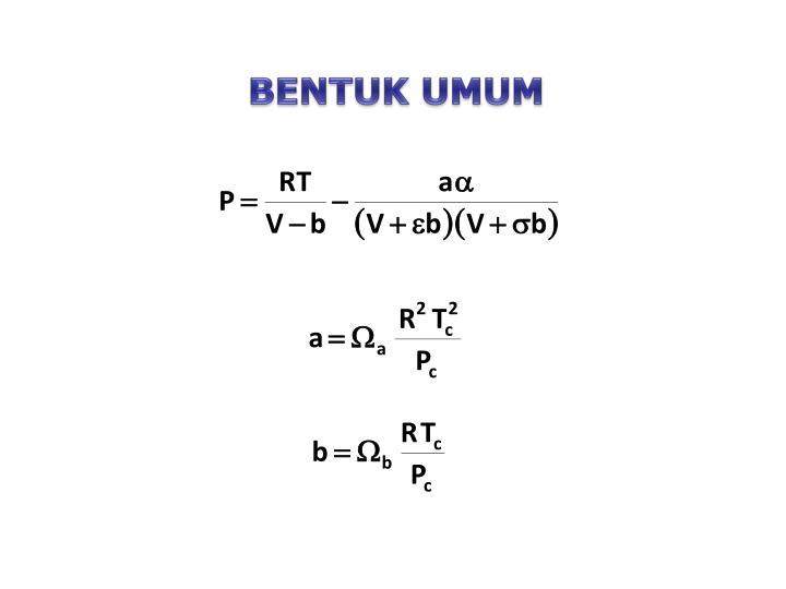 BENTUK UMUM