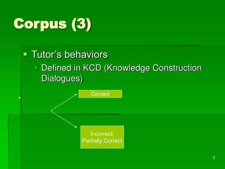 Corpus (3)