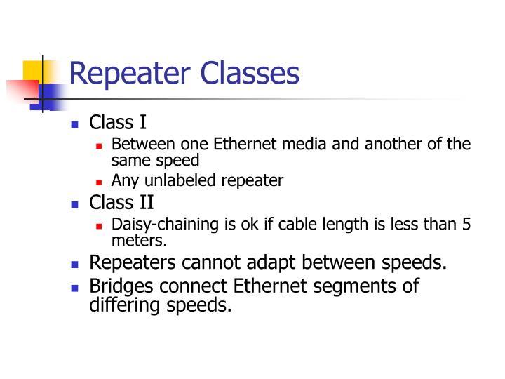Repeater Classes