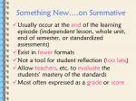 something new on summative1