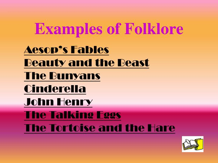 Examples of Folklore
