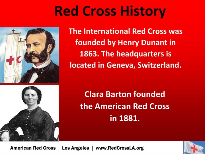 Red Cross History