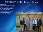 nato sfp keeo project team