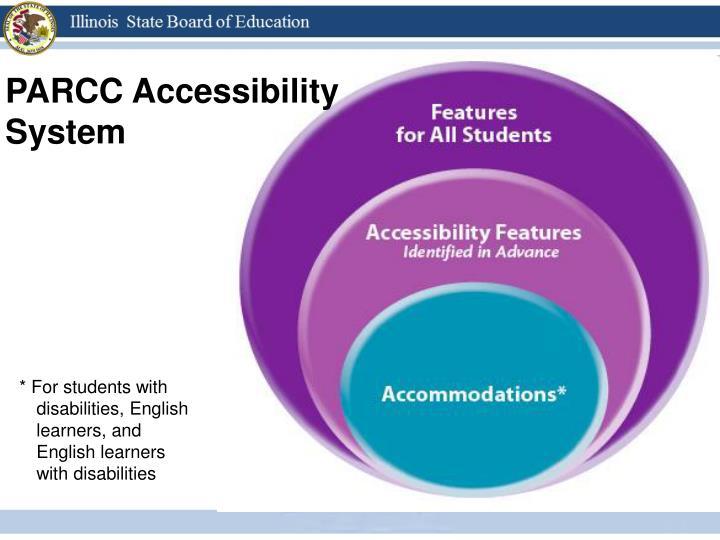 PARCC Accessibility System