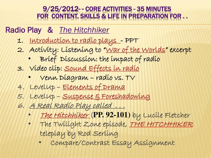 Radio Play   &