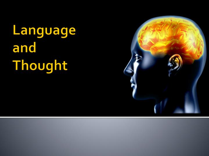 language and thought n.