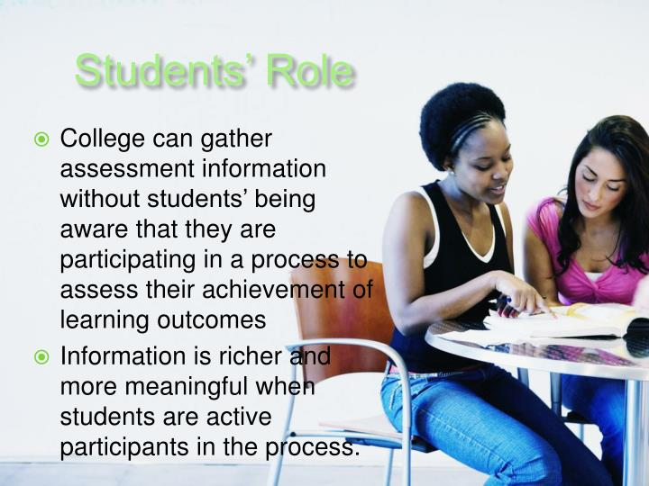 Students' Role