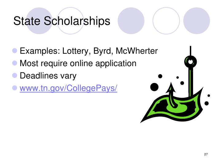 State Scholarships
