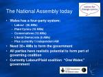 the national assembly today