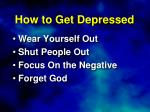 how to get depressed1