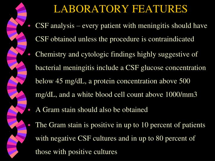 LABORATORY FEATURES