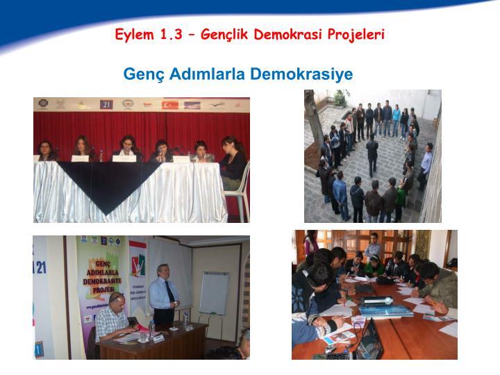 Genç Adımlarla Demokrasiye