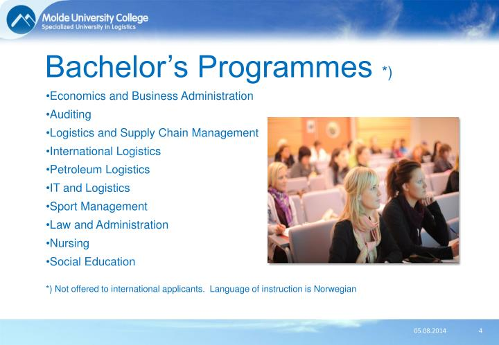 Bachelor's Programmes