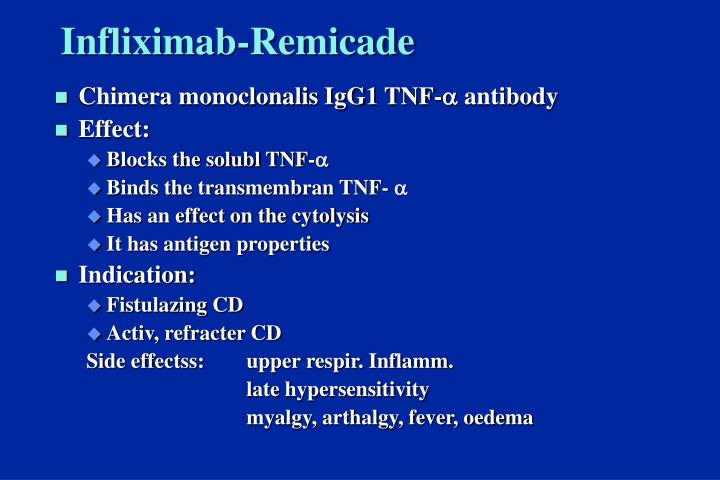 Infliximab-Remicade