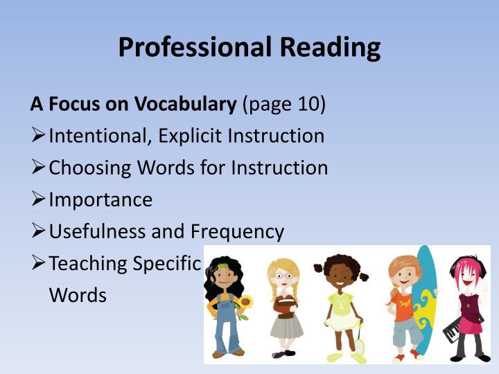 Professional Reading