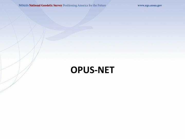 OPUS-Net