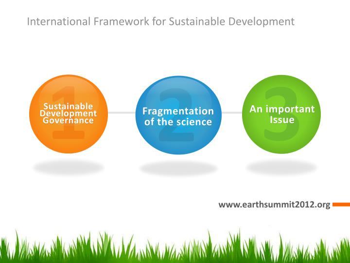 International Framework for Sustainable Development