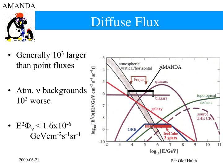 Diffuse Flux