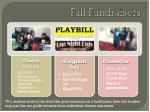 fall fundraisers