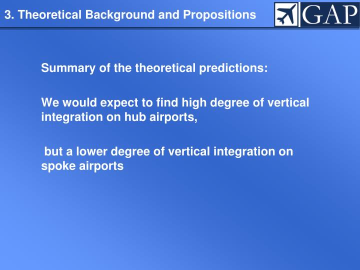 3. Theoretical Background and Propositions
