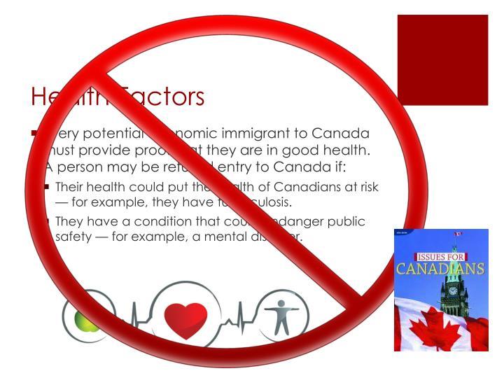 Health Factors