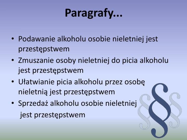 Paragrafy...