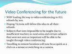 video conferencing for the future
