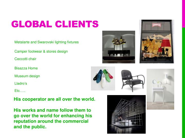 Global clients