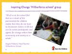 inspiring change wilberforce school group1