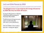let s end child poverty by 2020