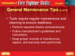 general maintenance tips 2 of 2