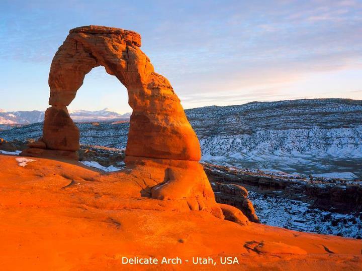 Delicate Arch - Utah, USA