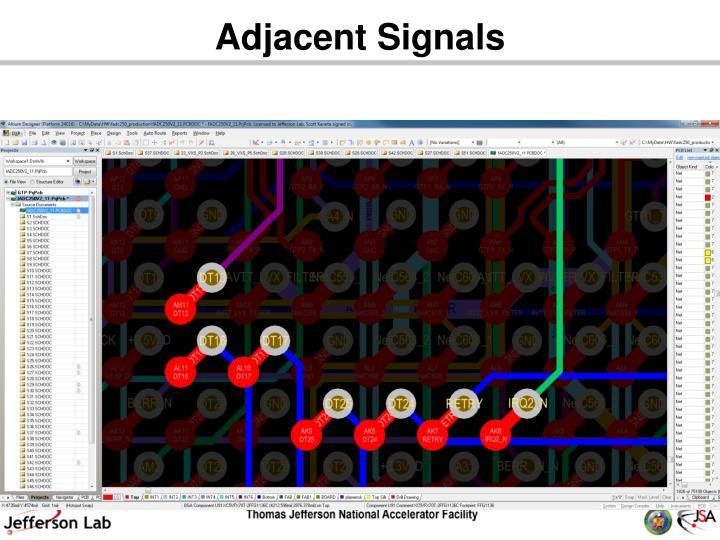 Adjacent Signals